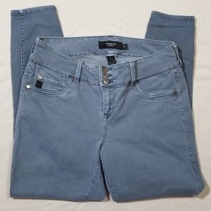 Torrid Blue Gray Skinny Jeans Size 14R